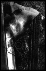 burnt mattress (B.S. Wise) Tags: blackandwhite bw abstract art photography photo urbandecay dirty blancinegre bradwise bradswise artisticphotos abstractreality whiteandblackphotography filmisnotdead chaosinthesoul incoloro trashbit bswise veotodoenblancoynegro trashbitreloaded adumbrationsofthesublunaryethos