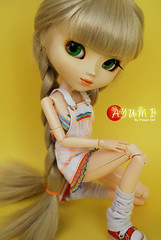 Ayumi - Pullip Paja (-Poison Girl-) Tags: orange white yellow doll stock barbie wig pullip pullips paja ayumi poisongirl obitsu junplanning sbhm pullippaja