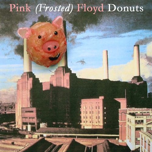 Pink Frosted Floyd Donuts