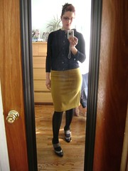 Dirty Mirror Shot #2 (Swallowtailed) Tags: me outfit clothing nadia clothes