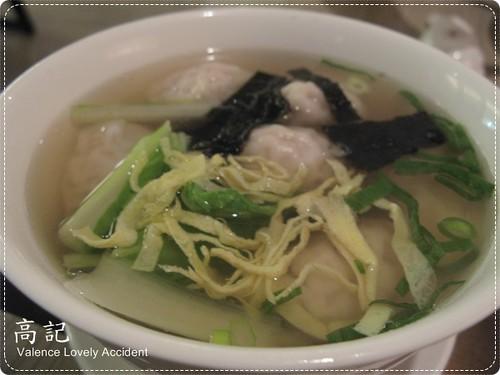 高記_蝦貝鮮肉餛飩湯