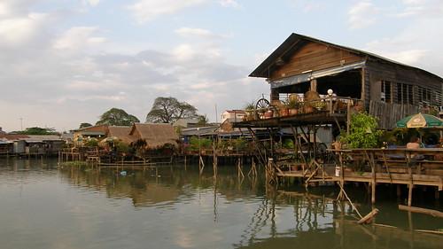 69.Boeng Kak Lake旁的水上屋 (1)