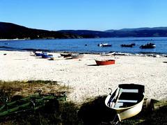 tira do cordel ([shock]*) Tags: do playa galicia barcas tira cordel finisterra finisterre
