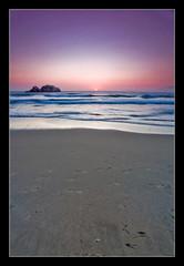 Simple Beach Sunset (and[w]) Tags: sf sanfrancisco canon bay tripod nd area sutrobaths polarizer grad pointlobos pro1 hoya bogen cokin zpro 1635lii 055xprob 5dii