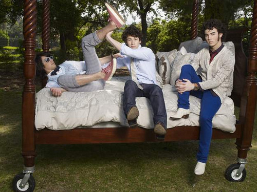 Kevin, Joe & Nick being silly :) by JB foreverr <3.