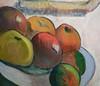 Paul Gauguin, Portrait of Jacob Meyer de Haan, fruit