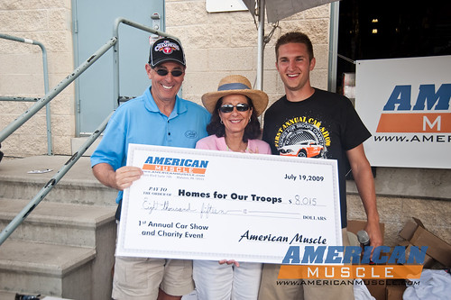 $8,015 For Homes For Our Troops!