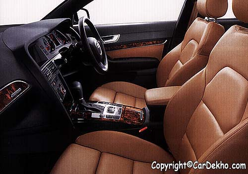 Audi A6 Interior. Audi A6 Front Seats Interior