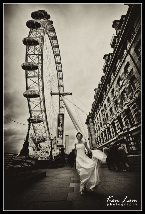 Pre-wedding in London