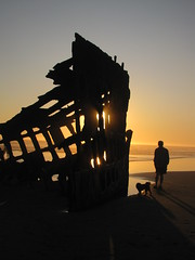 Peter Iredale shipwreck (~Patti~) Tags: ocean sunset beach shipwreck peteriredale
