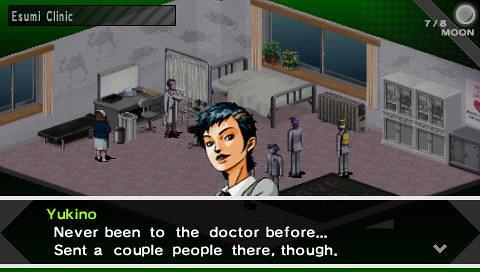 Shin Megami Tensei: Persona PSP screenshot 1