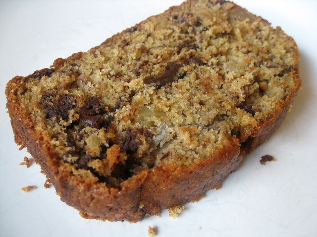 Banana Bread with Chocolate and Ginger: For Friendship