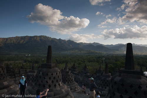 Borobudur, vista general