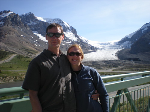 Clare & Dennis Columbia Icefield