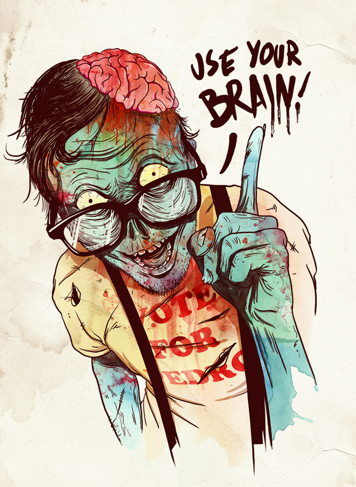 Geeky Zombie