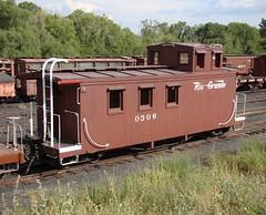 D&RGW Caboose #0306 (El Cobrador) Tags: railroad newmexico caboose chama narrowgauge cumbrestoltec denverriogrande drgw