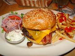 Cheesecake Factory's Ranch House Burger (Harvey-Harv) Tags: sony burgers cheesecakefactory bigburgers thecheesecakefactory burgerandfries dschx1 sonydschx1