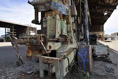 Old Lumber Mill (edsel12) Tags: california abandoned graffiti urbandecay huntingtonbeach rundown lumbermill