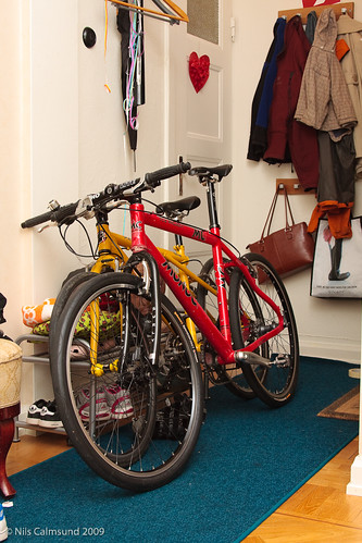 Bikes in the Hall