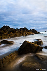 Marea... (Jorge Martnez) Tags: sea espaa seascape beach landscape mar spain asturias playa paisaje asturies jorgemartinez canoneos50d