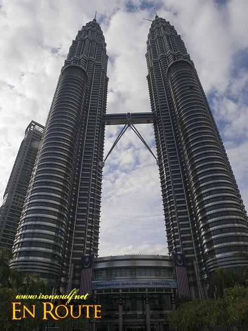 Petronas Sky Bridge Twin Towers