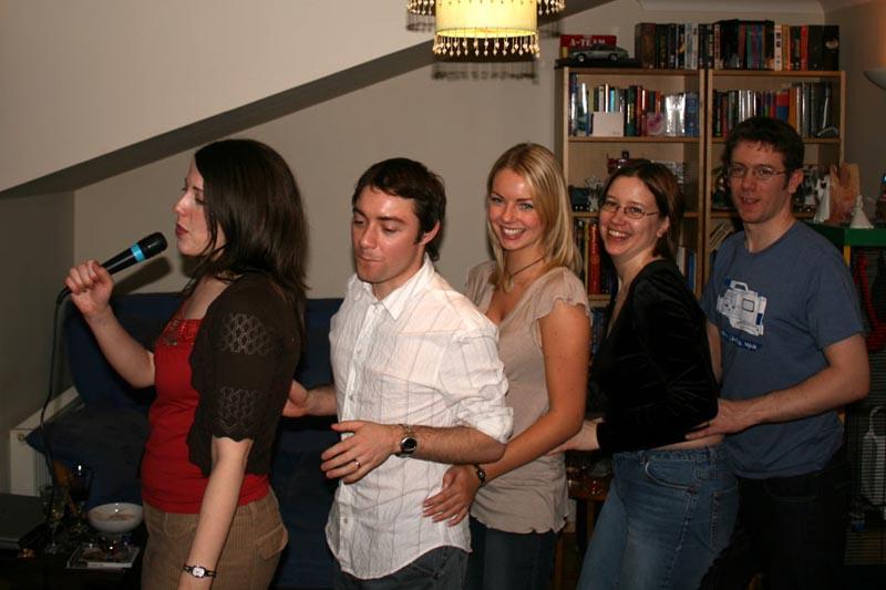 Hillside posse do Singstar - January 2007