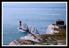 Beautiful England :. The Needles, Isle of Wight (Anand Balaji) Tags: travel england lighthouse coast rocks europe waves britain great isle wight pentak k100d justpentax