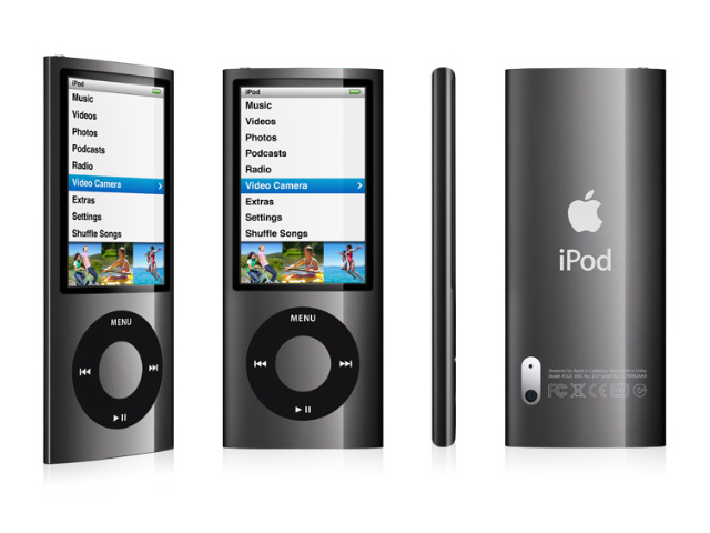 iPod Nano con video cámara