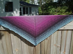 003 PURPLE DREAM Shawl