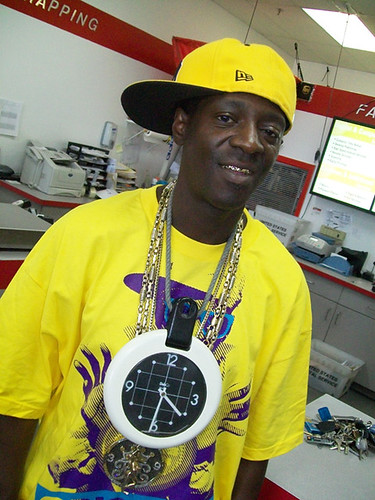 4. Its Vegas fixture, Flavor Flav! Bonus accessory: Clock, natch.