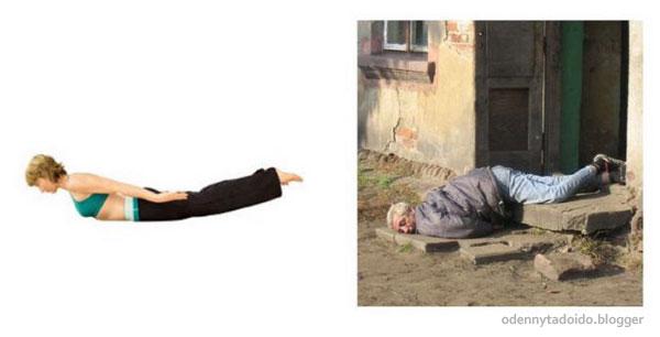 Yoga de b�bado
