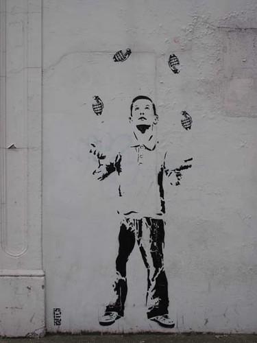 grenades stencil