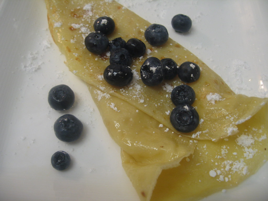 Creamy Lemon Blueberry Crepes Recipe — Dishmaps