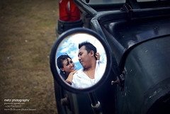 in spion willis (memet metz) Tags: wedding bali beach couple mobil willis spion prewedding clasic antik canggu prewedd baliphotographer metzphotography metzcreative balineseprewedding agusyeni pentaxk10dlenssigma70300mm