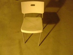 bent chair