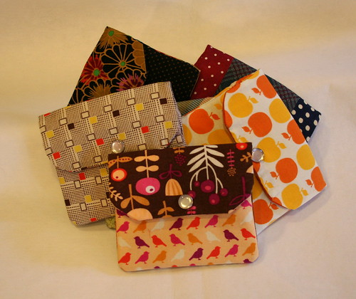 Zippered Card Wallets