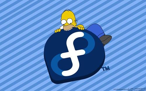 Homero + Fedora