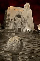 El Temple (Albert Collado) Tags: stairs temple catedral girona escaleras escales