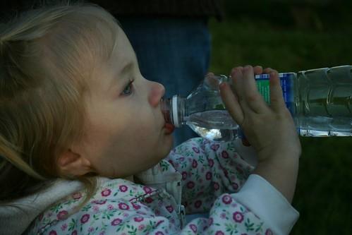 thirsty girl!
