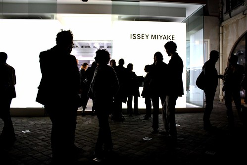 Issey Miyake Private viewing