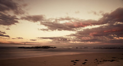 The Entrance at sunset (Adriana Glackin) Tags: sunset sky beach nature clouds sand rocks waves australia nsw theentrance
