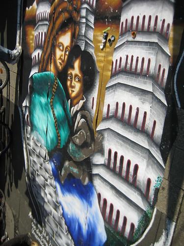 Straßenmalerei 1
