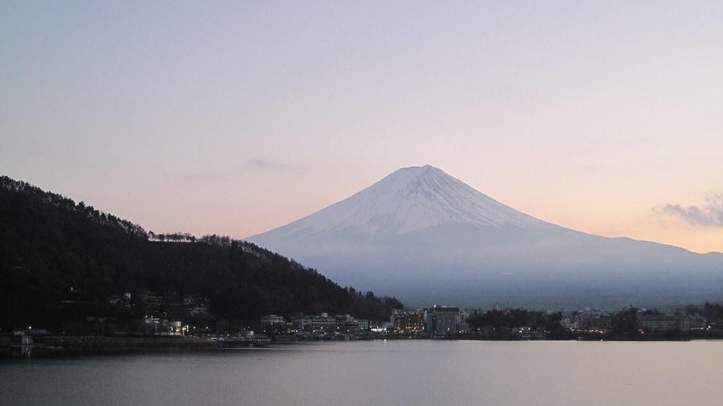黃昏富士山