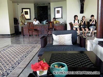 Banyan Tree lobby