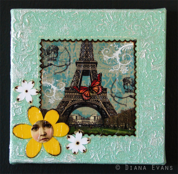 Paris Mixed Media