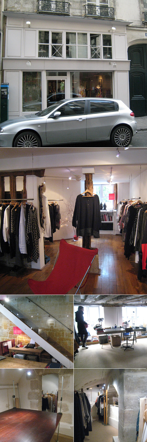 belle boutique rue St-Paul