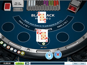 UK Blackjack Single Hand game