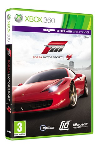 Forza Motorsport 4 Plays Better With Kinect, Pre-Order Bonus Detailed