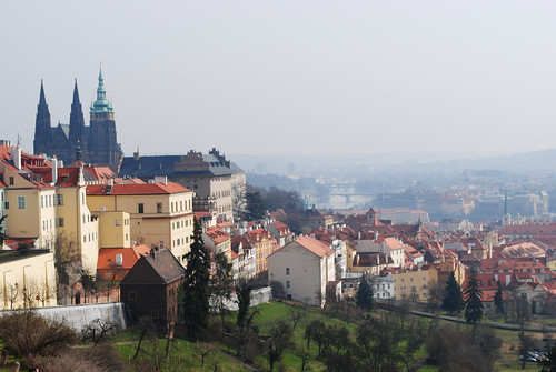 Prague from the castle by ioarvanit