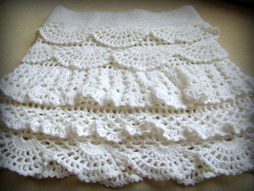 Crochet Skirt by Pure Craft